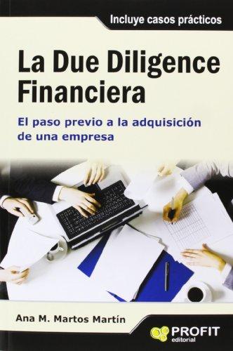 La Due Diligence Financiera por Ana María Martos Martin