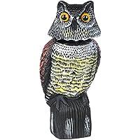 Desconocido Escultura de búho para espantar Palomas (se Mueve con el Viento)