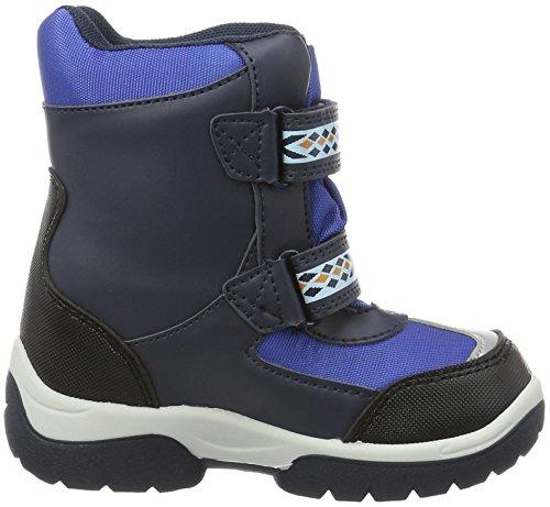 Die Eiskönigin Boys Kids Snowboot Booties, Bottes courtes avec doublure chaude garçon Bleu - Blau (Bk/Sil/Cb/Ln 147)