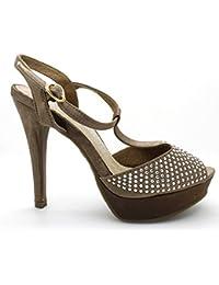 Zapato XTI bronce