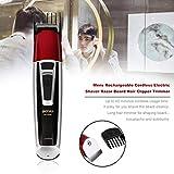 1 set ricaricabile cordless universale tagliacapelli elettrico professionale trimmer rasoio pratico barba trimmer strumenti per lo styling moda