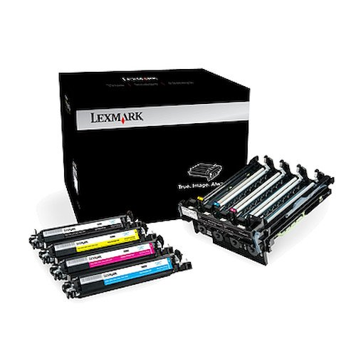 Lexmark 700Z5 Black and Colour Imaging Kit lowest price