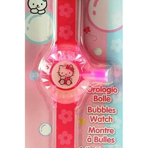 Bolle sapone + Orologio Dulcop-Hello Kitty 57100 - Foto Sapone