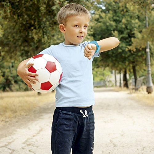 EASYmaxx Kinder Smart Watch | Smartwatch| Armbanduhr | GPS, Telefon, Sprachnachrichten, Standortlokalisierung per App, Ortung, Tracker | Kein Handy notwendig - verwendbar mit Micro Sim Karte - 5