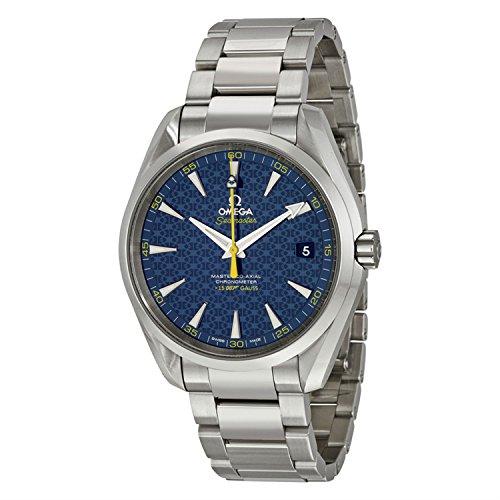 Omega Seamaster del hombre James Bond edición limitada 42mm correa de acero reloj automático 231.10.42.21.03.004