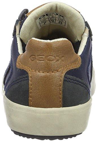 Geox J Alonisso A, Sneakers Basses Garçon Bleu (Navyc4002)