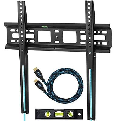 'Cheetah Mounts Apfmsb TV Wall Bracket for 20-55140) Plasma, LED & LCD TV Wall Bracket Mount 3cm, Vesa 420X400Max. 52kg