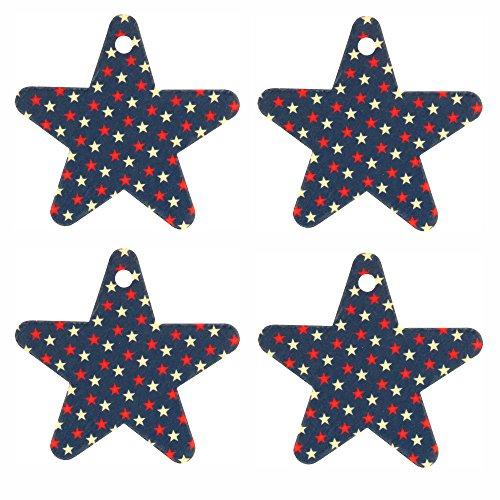 Eclectic Lady Set von vier usa-flagge luftverbesserer frisch gepflückten blaubeere stern auf stern