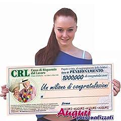 Idea Regalo - Biglietto assegno pensione