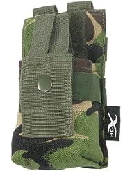 BE-X Modulare Funkgeräte / GPS Tasche mit verstellbarer Sicherung - woodland DPM