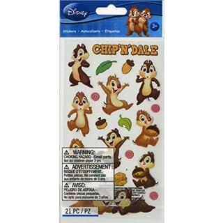 Jolees Disney Classic Stickers-Chip 'n Dale