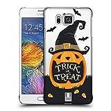 Head Case Designs Jack O' Lantern Halloween Figuren Ruckseite Hülle für Samsung Galaxy Alpha