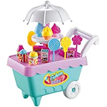 Simulación Mini Ice Cream Trolley Mini Candy Trolley (Random Color) ...