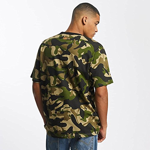Pelle Pelle Uomo Maglieria / T-shirt Back 2 Basics Mimetico