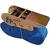 Spanngurt mit Ratsche Zurrgurt Spanngurt 800 kg 5 Meter für LKW Anhänger PKW Stück (1)
