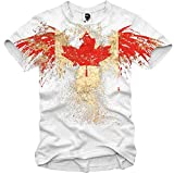 E1SYNDICATE T-SHIRT CANADA ADLER EAGLE NORTH AMERICA ICEHOCKEY S-XL