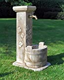 Standbrunnen LUNA H 86 Farbe terracotta
