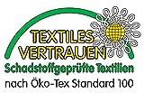 Handtuch Royalblau Baumwolle 500g/m2 Frottee 50 x 100 cm - 2