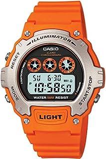 Casio Men's Digital Quartz Watch with Resin Strap W-214H-4AVEF (B004FI1Z3Y) | Amazon price tracker / tracking, Amazon price history charts, Amazon price watches, Amazon price drop alerts
