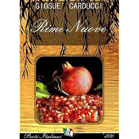 G. Carducci - Rime Nuove (Poeti Italiani '800 Vol. 1) - Antico Poesia Libri