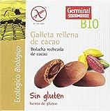 Germinal Galletas Sin Gluten Rellenas de Cacao - Paquete de 10 x 200 gr - Total: 2000 gr