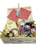 Geschenkidee Geschenkkörbe - Präsentkorb Eifel auf´s Brot Geschenkkorb mit deftigen hochwertigen Eifel Lebensmittel