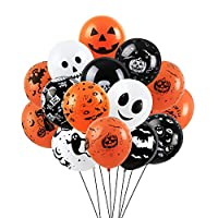 Halloween Balloons Decorations 100 PCS Balloons for Halloween Theme Party Indoor Halloween Decorations Accessory Halloween Party Supplies