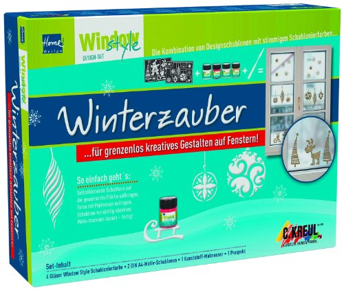 Kreul 74700 - Window Style Design Set Winterzauber