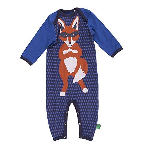 Fred's World by Green Cotton Baby-Jungen Body Rescue Loungewear Bodysuit Boy, Blau (Skipper 019395201), 92