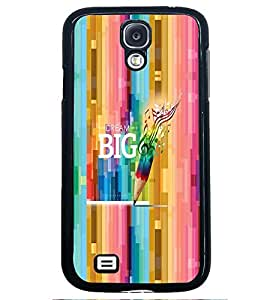PRINTVISA Abstract Quotes Case Cover for Samsung Galaxy S4 Mini
