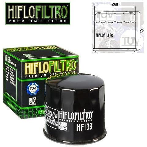 FILTRO OLIO MOTORE HIFLO HF138 PER SACHS ROADSTER 800 2002