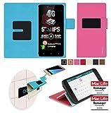 reboon Hülle für Allview X2 Soul Lite Tasche Cover Case Bumper | Pink | Testsieger
