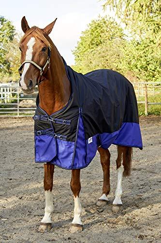 High Neck Outdoordecke Regendecke ergonomisch 600 Denier ohne Füllung Fleece Lining 145 155 165 Tysons Friese (145 cm)