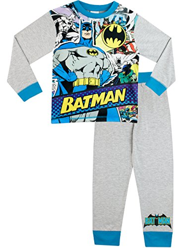 Batman - Pijama para Niños - Batman - 7 - 8 Años