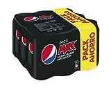 Pepsi Max Zero refresco sin Azúcar - Pack de 9 x 33 cl - Total: 2970 ml