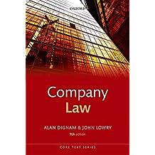 Company Law (Core Texts Series)