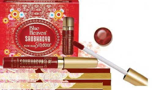 Blue Heaven Saubhagya Kum Kum Liquid Sindoor 8 ML Maroon Colour