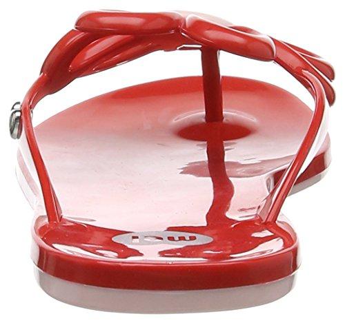 Mel Flower II Sp Ad, Tongs femme Rouge (50962 Rouge)