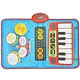 Little Toys Kinderspielzeug Baby Jazz Drum Elektronisches Klavier Klavier Decke Multi-Funktion Früherziehung Puzzle Musik Mädchen Jungen Spielzeug Anfänger Spielzeug (größe : A)