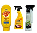 #10: Formula 1 Combo Of - Auto Pearl Scratch Out 227gm , Spray Wax 473 ml andCar Dash Board White Polish