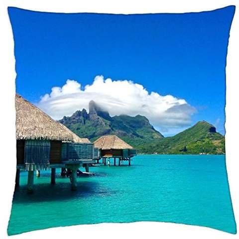 irocket-four-seasons-resort-water-villas-and-blue-lagoon-bora-bora-polynesia-throw-pillow-cover-18-x