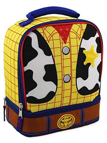 Woody Kleinkind Kostüm - Toy Story Woody Kinder Lunchbox mit zwei Fächern, isoliert Einheitsgröße Yellow/Multi