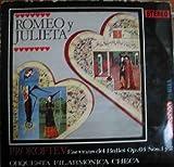 Libros Descargar en linea Antiguo vinilo Old Vinyl PROKOFIEV ROMEO Y JULIETA OP 64 ESCENAS DEL BALLET FILARMoNICA CHECA DIR KAREL ANCERI (PDF y EPUB) Espanol Gratis