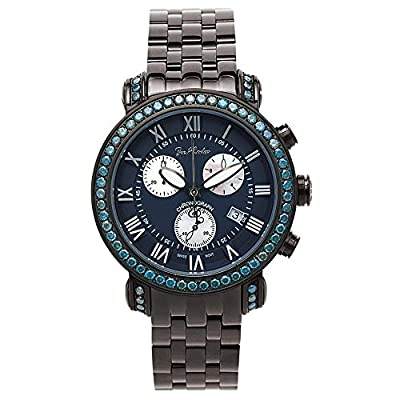 Joe Rodeo Diamond Men's Watch - CLASSIC black 5.5 ctw