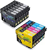 OfficeWorld Replacement for Epson T1291 T1292 T1293 T1294 Ink Cartridges Compatible with Epson Stylus SX420W SX425W SX440W SX445W SX525WD SX535WD SX620FW and Stylus Office B42WD BX305F Office BX305FW BX 305 FW Plus BX320FW BX525WD BX535W BX625FWD BX630FW BX635FWD BX925FWD BX935FW WorkForce WF-3520DWF WF-3530DTWF WF-3540DTWF WF-7015 WF-7515 WF-7525