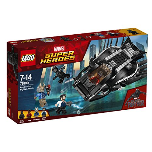LEGO Super Heroes - Royal Talon Fighter Attack, única (76100)