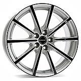 Borbet BL5 silver black glossy 8x18 ET50 5.00x112 Hub Bore 72.50 mm - Alu felgen