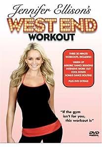 Jennifer Ellison's West End Workout [2006] [DVD]