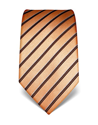 vb-mens-silk-tie-striped-many-colours-availablesalmon