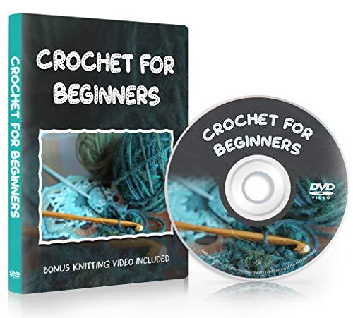 Crochet for Beginners - Learn Stitches & Patterns + Bonus Knitting Video -